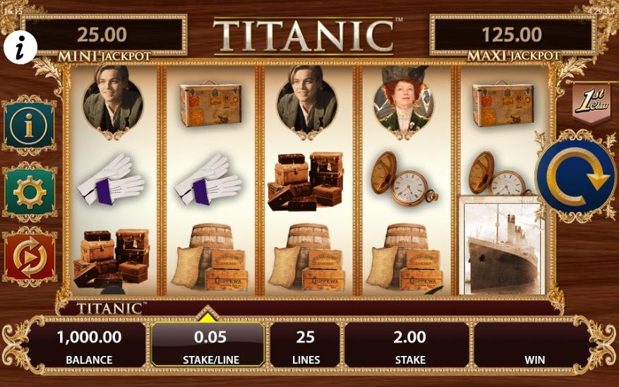 Игровой автомат Titanic