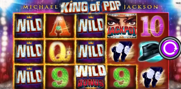 Michael Jackson King of Pop scatter, wild