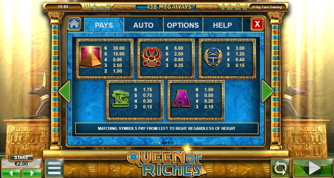 Онлайн автомат Queen of Riches cтилистика