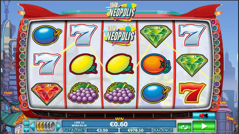 Онлайн автомат Neopolis