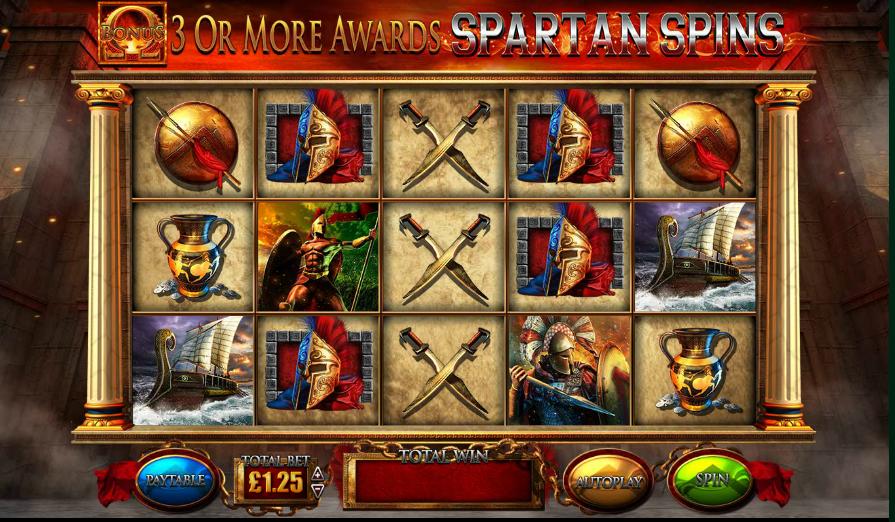 Онлайн автомат Sparta