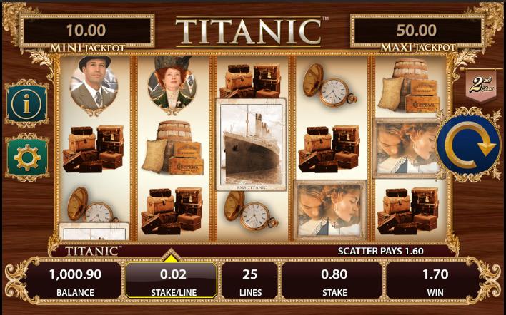 Онлайн автомат Titanic