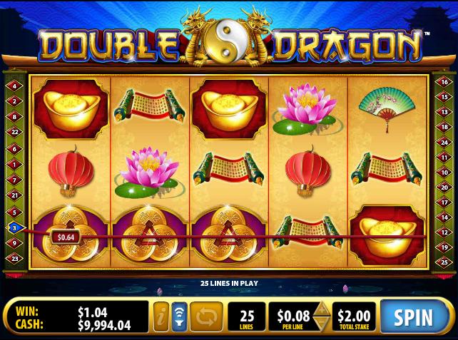 Онлайн автомат Double Dragon