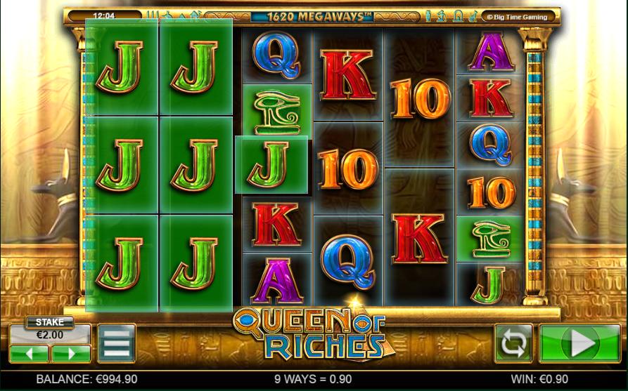 Онлайн автомат Queen of Riches